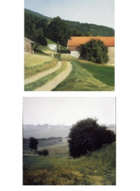 Gerhard Richter: two landscapes