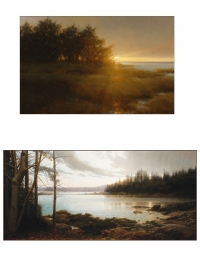 Jacob Collins: two landscapes