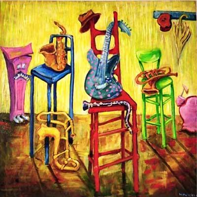 jazzed the original jazz art of irene nowicki